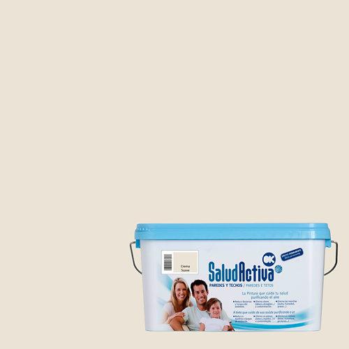 Pintura interior salud activa 4l crema suave