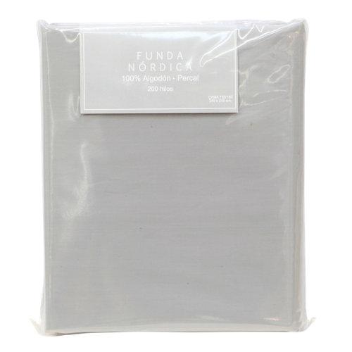 Funda nórdica gris para cama 150 / 160 cm