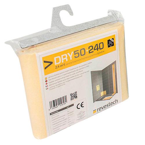 Lámina impermeabilizante dry 50-240 revestech