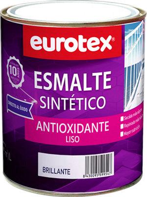 Esmalte para hierro Eurotex negro 4L