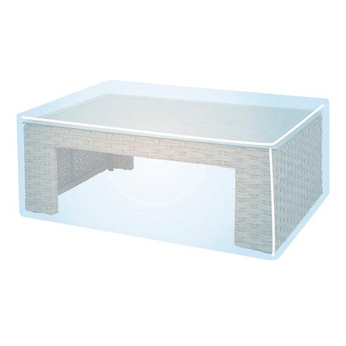 Funda de protección para mesa y sillas de poliéster 114x200x71 cm