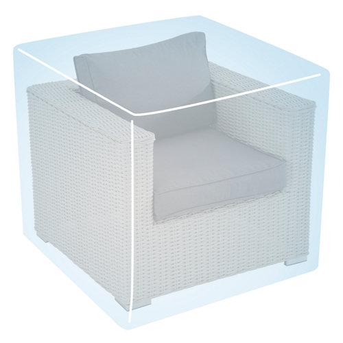 Funda de protección para sillón de polietileno 94x94x68 cm