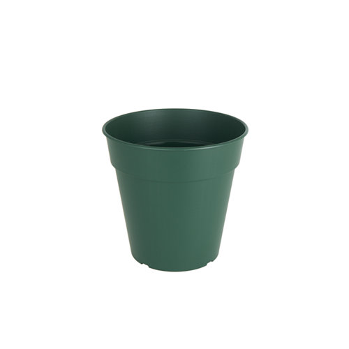 Maceta redonda madagascar verde oscuro 40x40x38,5cm