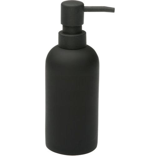 Dispensador de jabón vare de poliresina negro