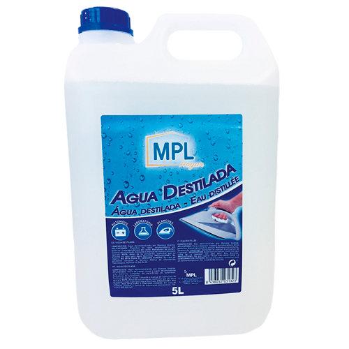 Agua destilada mpl 5 l transparente