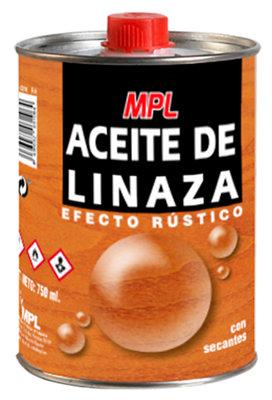Aceite de linaza efecto rústico MPL 0.75L