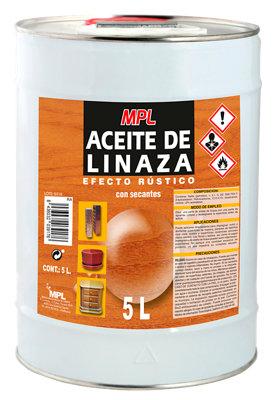 Aceite de linaza efecto rústico MPL 5L
