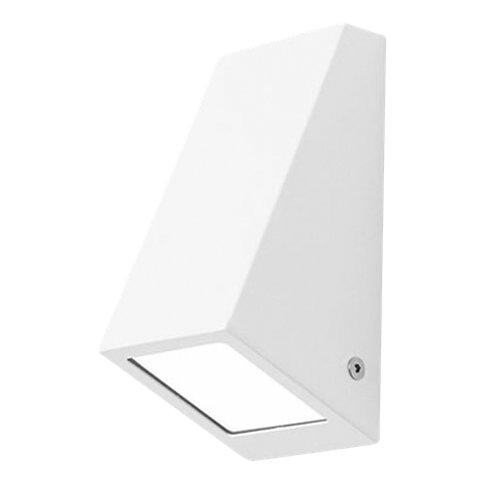 Aplique de exterior blanco forlight karen small gu-10