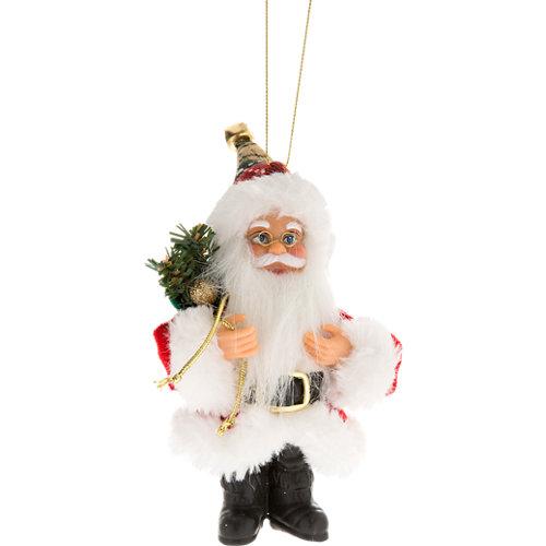 Figura de navidad colgante santa 13 cm