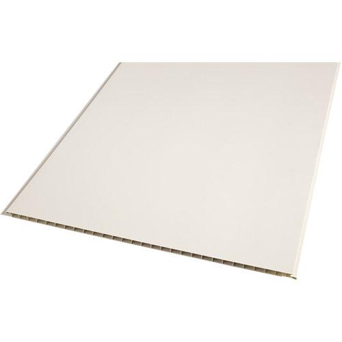 Revestimiento de pared de pvc artens beige de 37.5x0.8x260cm