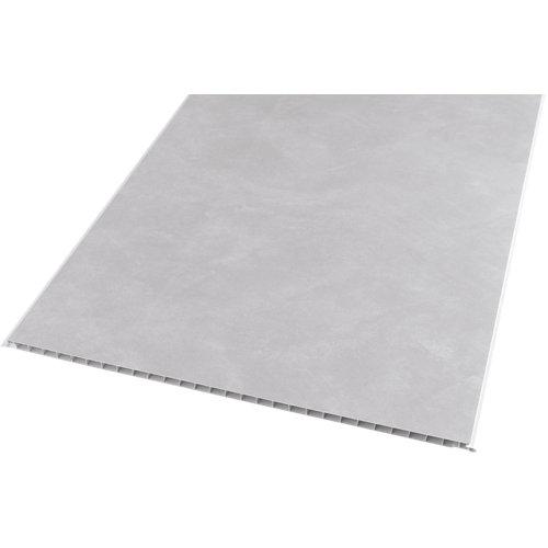 Revestimiento de pared de pvc serie artens cemento