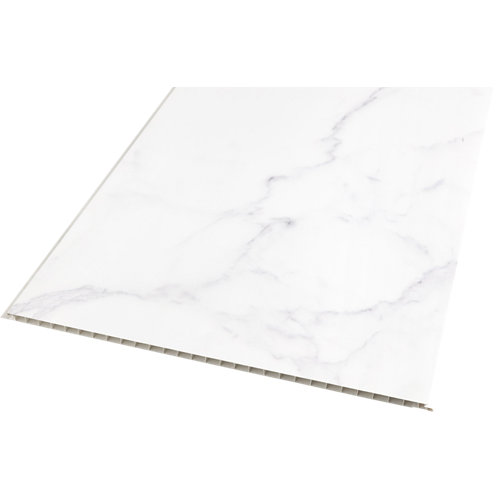 Revestimiento de pared de pvc artens marmol 37.5x0.8x260cm