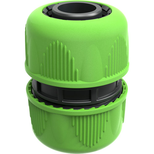 Conector manguera-manguera abs de gran caudal 25 mm geolia