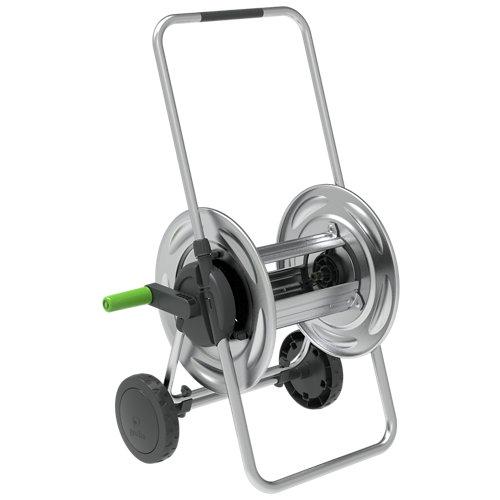 Carro en meta equipado geolia con 35m manguera de ø15mm, accesorios y pistola