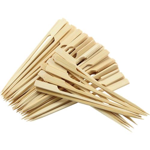 Bote de pinchos para brochetas naterial de bambú