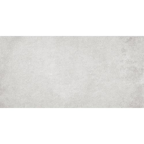 Baldosa de 37x75 cm en color gris / plata