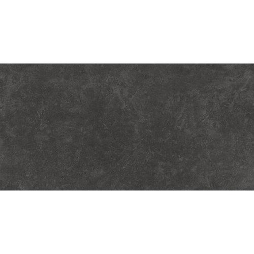 Baldosa de 120x240 cm en color gris / plata