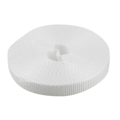 Cinta para persiana de nailon blanco de 14x6000 mm