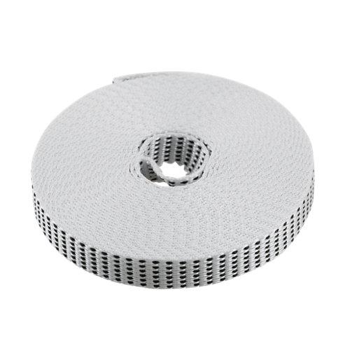 Cinta para persiana de nailon blanco de 14x6000 mm