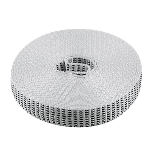 Cinta para persiana de nailon blanco de 20x6000 mm