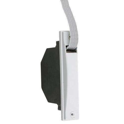 Recogedor para persiana de pvc blanco de 20 pintas