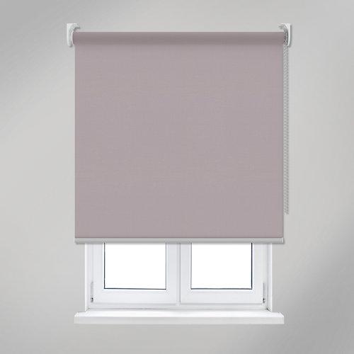 Estor enrollable translúcido madrid gris inspire de 120x250cm