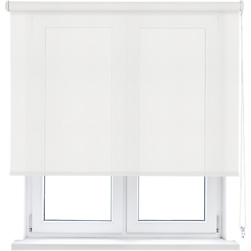 Estor enrollable translúcido screen blanco inspire de 105x250cm