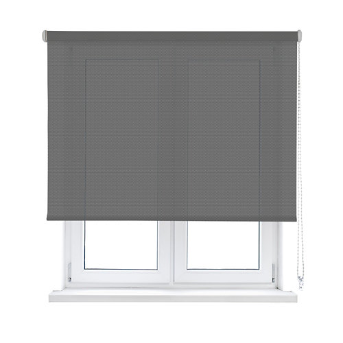 Estor enrollable translúcido screen gris inspire de 60x190cm