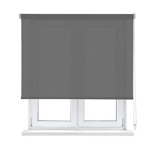 Estor enrollable translúcido screen gris inspire de 75x250cm