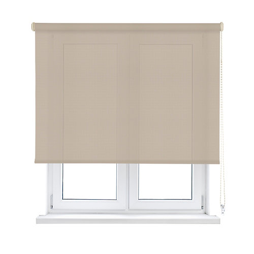 Estor enrollable translúcido screen beige inspire de 90x250cm
