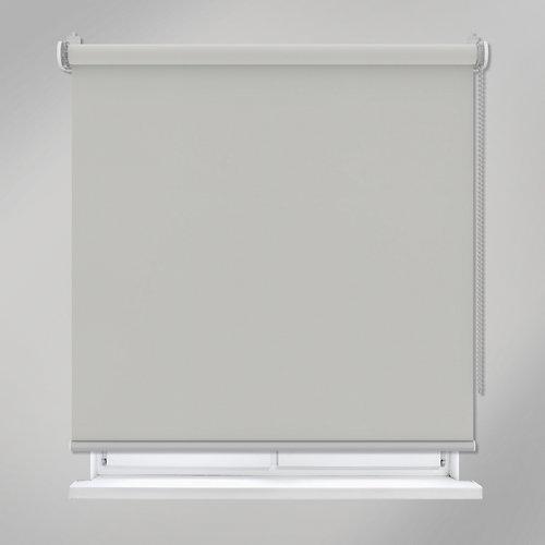 Estor enrollable opaco tokyo blanco inspire de 90x250cm