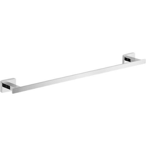 Toallero sparta gris / plata brillante 60x3.5 cm