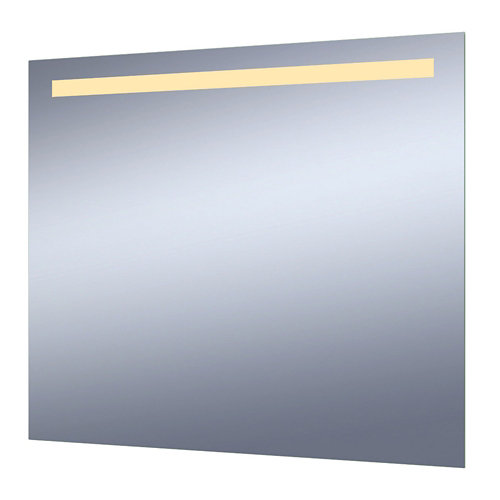 Espejo de baño con luz led essential 80 x 70 cm