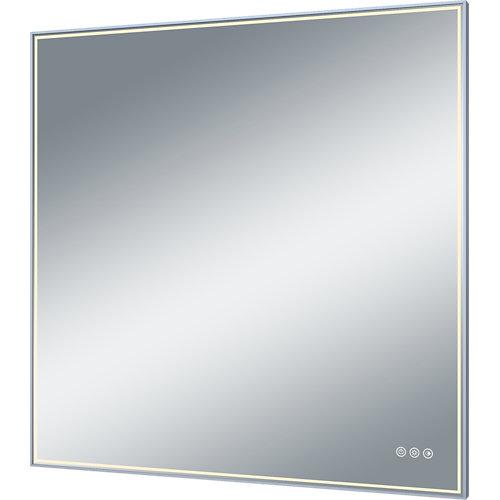 Espejo de baño con luz led neo 90 x 90 cm