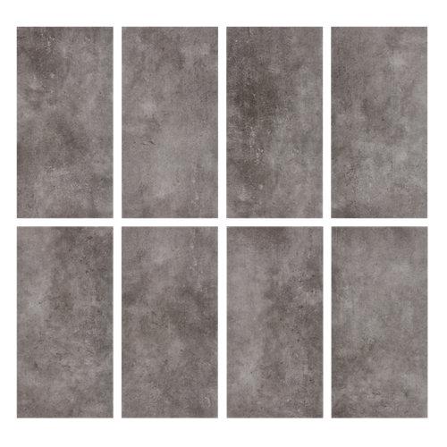 Loseta de pvc para suelo artens inteso 8 beton de color gris mod000
