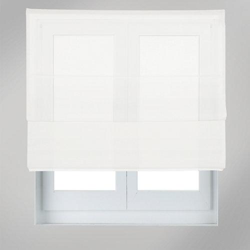 Estor plegable screen blanco 120 x 175 cm