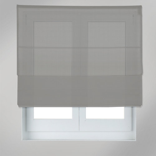 Estor plegable screen gris 135 x 175 cm