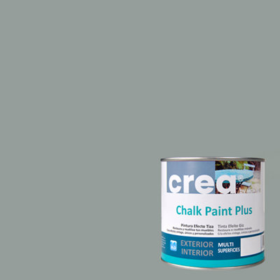Pintura a la tiza CHALK PAINT PLUS 500 ml gris azulado