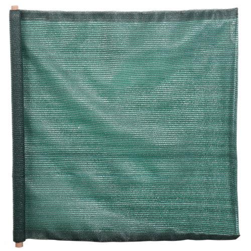 Malla de ocultación del 70% de polietileno 1x3 m verde