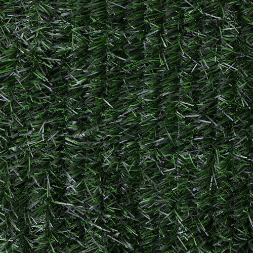 Seto artificial verde 95% de ocultación naterial 1x3 m