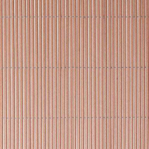 Cercado de mimbre lop bambú naterial 90% ocultación 1x3m