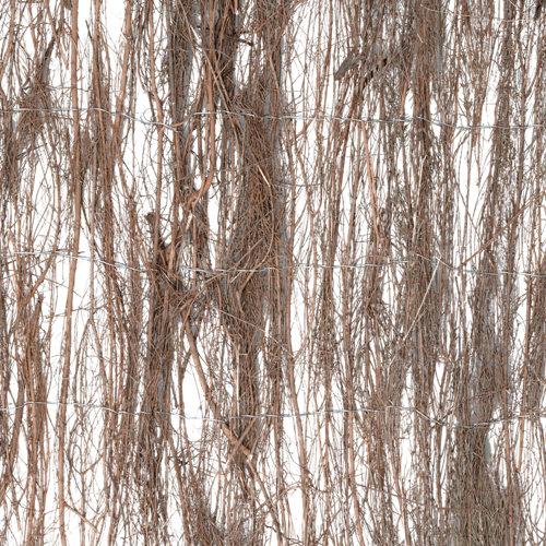 Brezo natural 75% de ocultación naterial 1.5x3 m