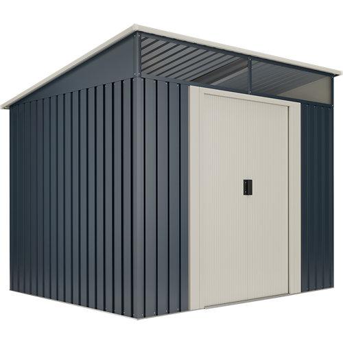 Caseta de metal caseta metal gansen ii 4,6 m2 de 238x203x194 cm y 4.6 m2