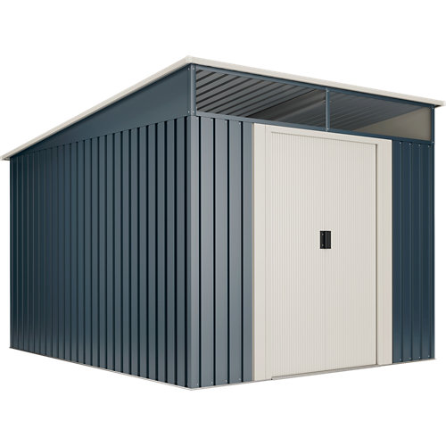 Caseta de metal caseta metal slevik ii 6,6 m2 de 238x203x279 cm y 6.6 m2