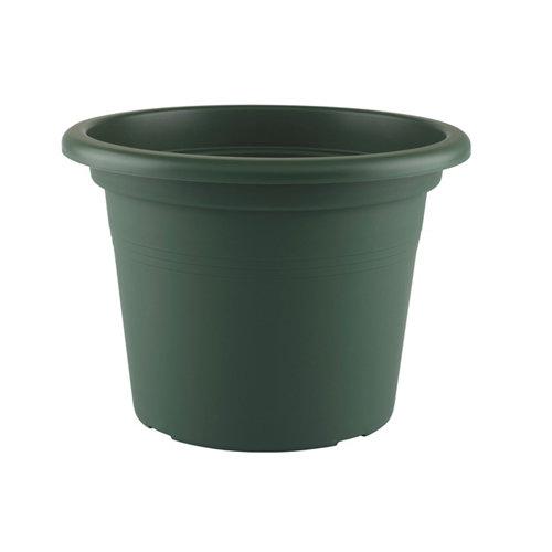 Maceta redonda venezia verde oscuro 25x25x18,2cm