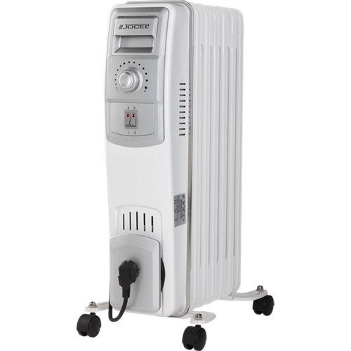 Radiador de aceite jocel jbe01262 1500 w blanco