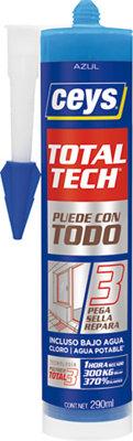 Sellador adhesivo TOTAL TECH 290 ml azul