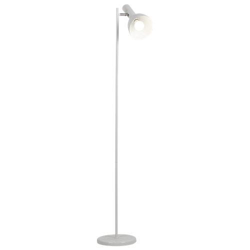 Lámpara de pie linea blanca