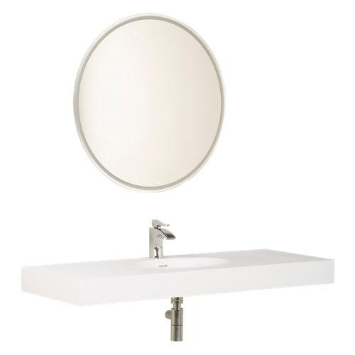 Lavabo neo blanco de 121x11x48 cm