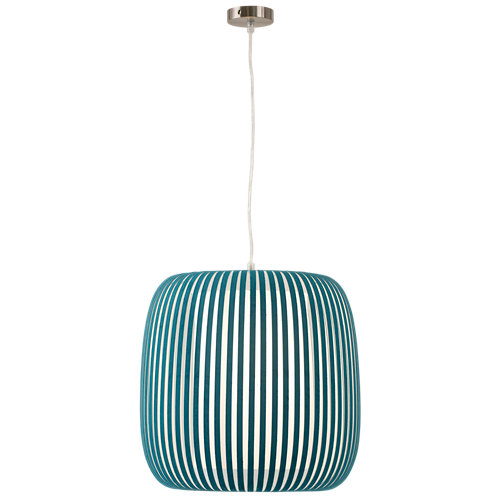 Lámpara de techo grace azul 1 luz